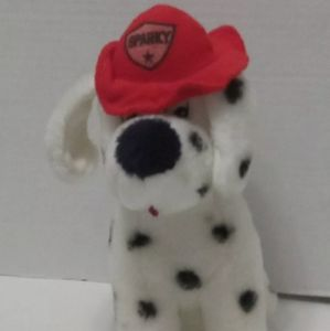 *FREE WITH PURCHASE* Sparky Dalmatian Fire Dog